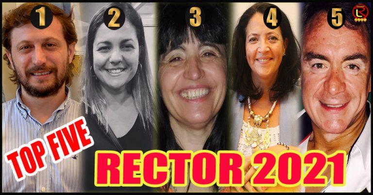 Los cinco pre candidatos mejor posicionados en la UNLaR