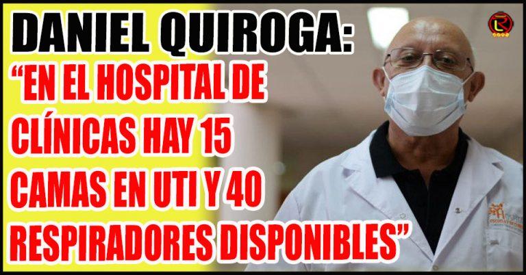 «Hoy hay 5 camas ocupadas en UTI, tres con respiradores»