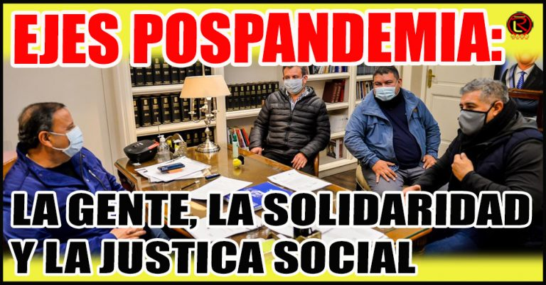 Quintela recibió a Torres, De la Fuente y Galeano: «es hora de la Gente»
