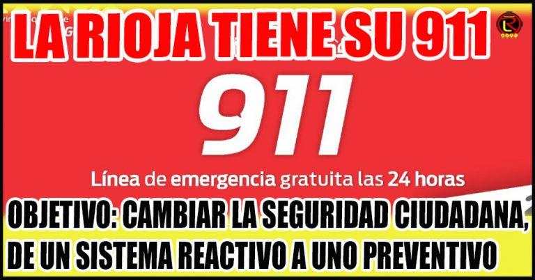 El gobernador inauguró el nuevo centro 911