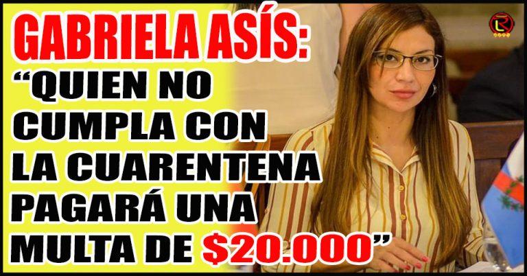 «No se le va a preguntar la identidad a quienes denuncien incumplimiento de la Cuarentena»