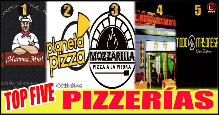 Cinco Pizzerías que no pueden faltar en tu Agenda de Deliveries