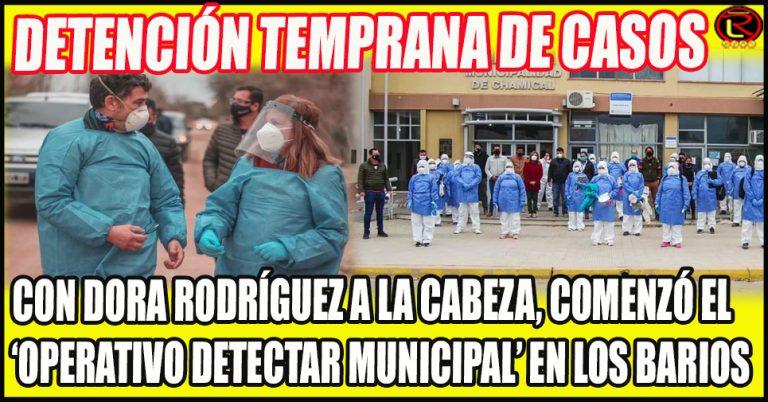 Importante rastrillaje epidemiológico en Chamical