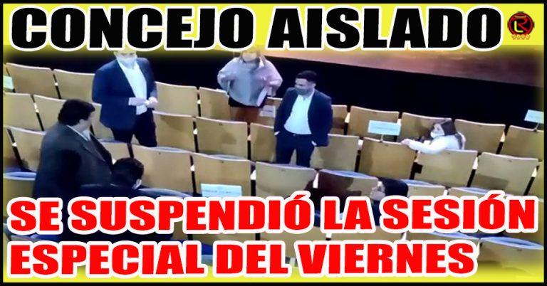 Ante el 'positivo' de Facundo Puy, se interrumpe la actividad en el Concejo Deliberante