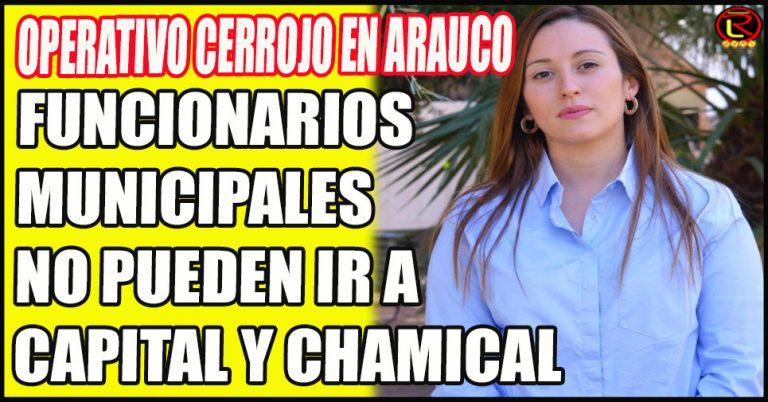 La Intendenta Virginia López cuida a los arauqueños