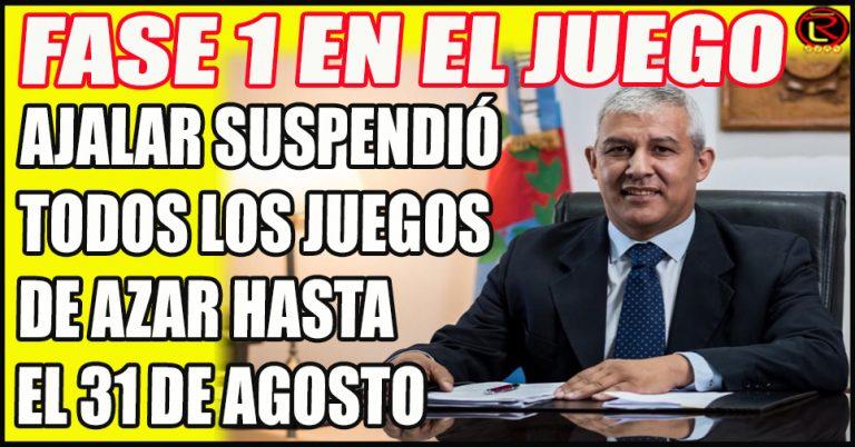 Ramón Vera suspendió todo tipo de actividad en AJALAR