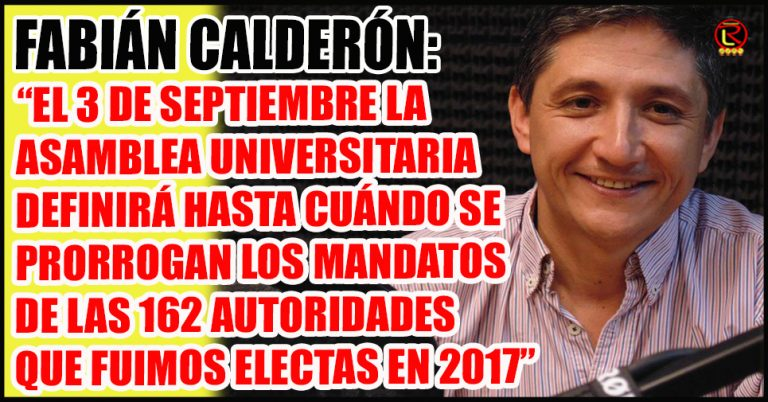 «La postergación del proceso electoral garantiza la continuidad del funcionamiento de la Universidad»