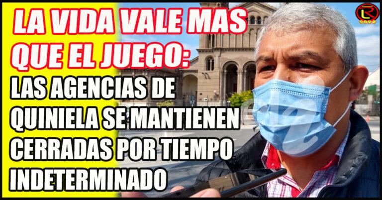 """Ramón Vera: """"la decisión es acompañar lo decretado por el Gobernador»"""