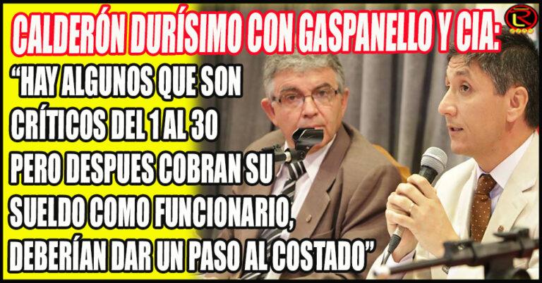 «No existe el oficialismo disidente, existe el oportunismo disidente»