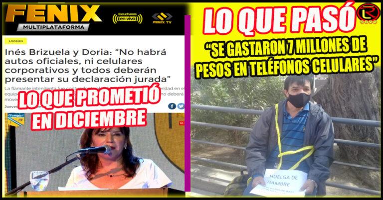 Otra preocupante contradicción de la Intendenta Inés Brizuela y Doria