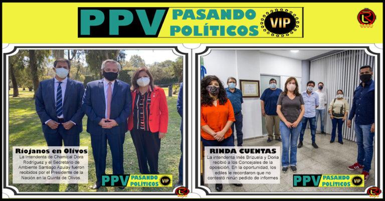 Pasando Políticos VIP: 6 imágenes para resumir la semana