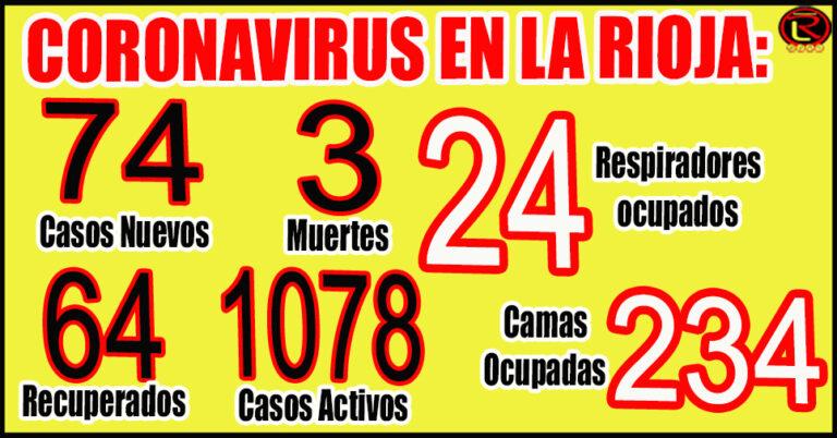 71% de ocupación en el Hospital de Clínicas, 57% en el Vera Barros, 34% en el HMyN y 24% en Chilecito