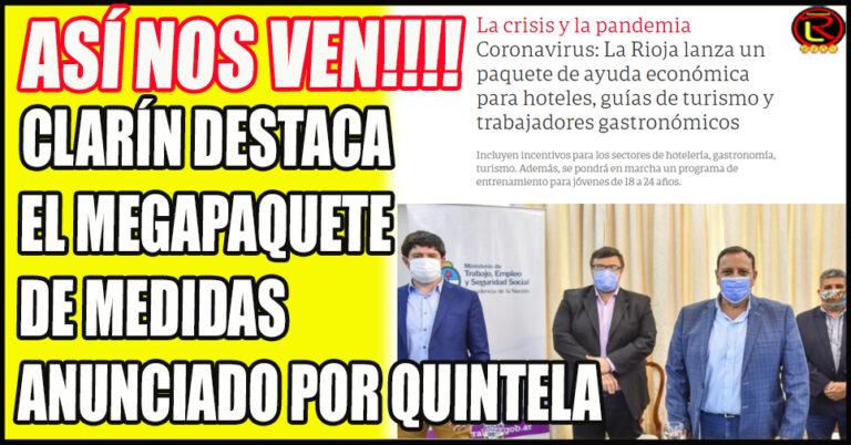 Los medios porteños resaltan la Gestión y la Asistencia en La Rioja