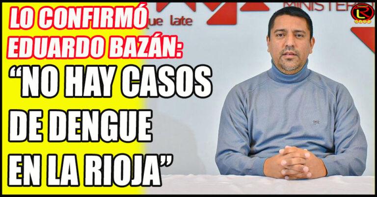 «El último caso lo tuvimos en Mayo, no hay circulación viral de Dengue en la Provincia»