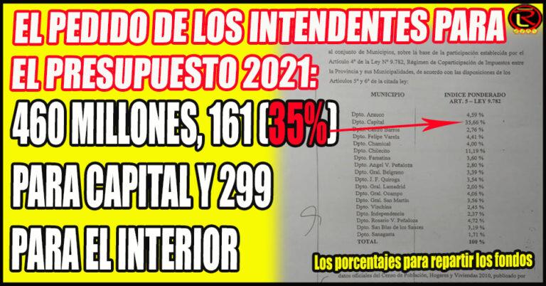 Los números que los 17 Departamentos del Interior le plantean a Nación
