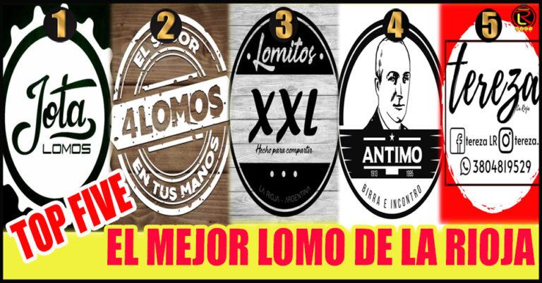 Los cinco Lomitos riojanos más vendidos