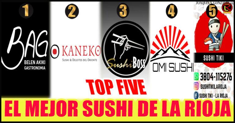 BAG, Kaneko, Sushi Boss, Omi Sushi y Sushi Tiki