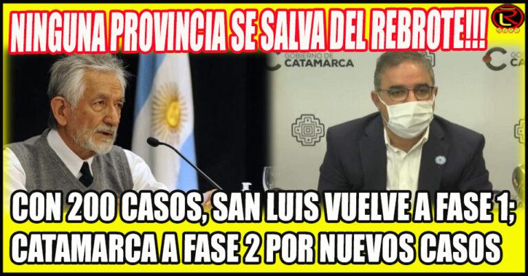 Rodríguez Saa y Jalil hicieron los respectivos anuncios