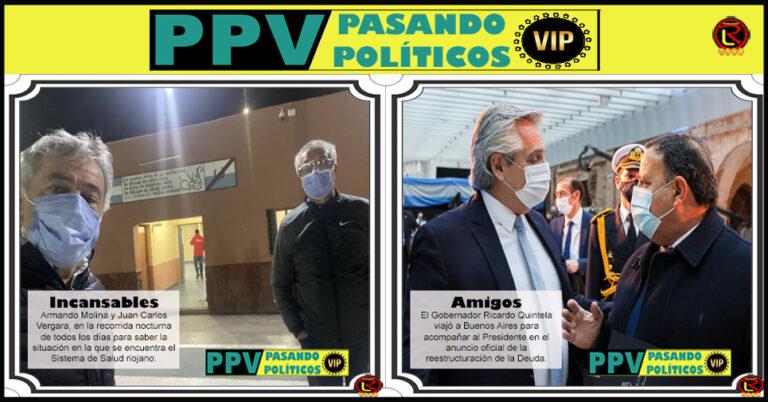 Pasando Políticos VIP: las 6 fotos más importantes de las emana