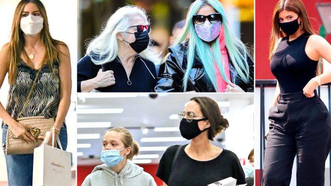 El look excéntrico de Lady Gaga en las calles de Nueva York, Angelina Jolie y Sofía Vergara: celebrities en un click