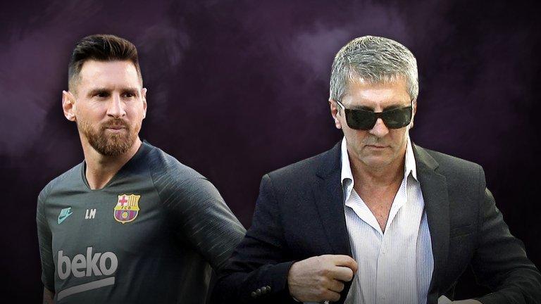 Horas decisivas en la Novela Lionel Messi: el futbolista se reunió con su padre para definir los pasos a seguir
