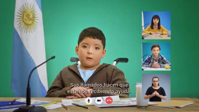 Emotivo video: campaña alerta por el aumento de la violencia contra la niñez durante la cuarentena