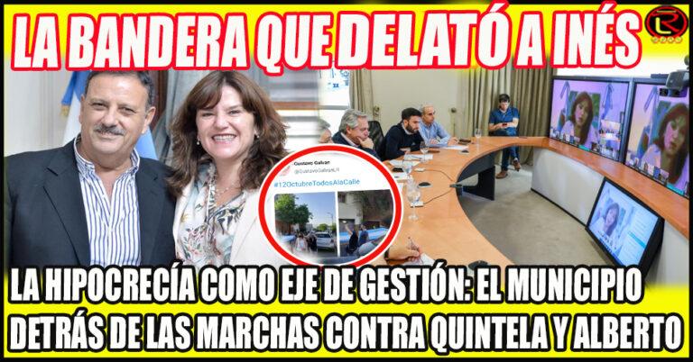 Nación ya tiene conocimiento de que la Intendenta estuvo detrás del #12O en La Rioja
