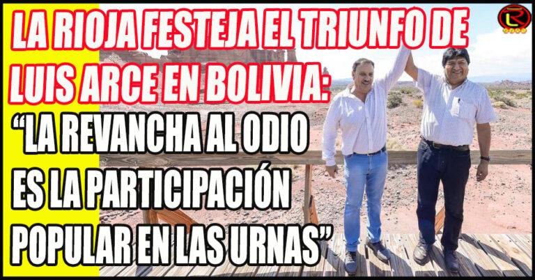 «Compartimos la línea de trabajo que tiene Evo Morales, el triunfo del MAS en Bolivia nos da mucha esperanza»