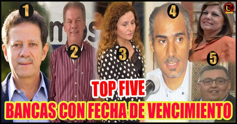 Cinco Diputados que empiezan a despedirse de la Política