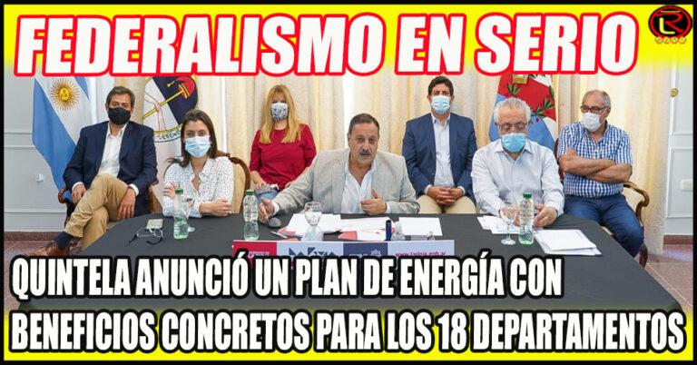 Electrificación rural y alumbrado público, gas natural y obras de energías renovable.