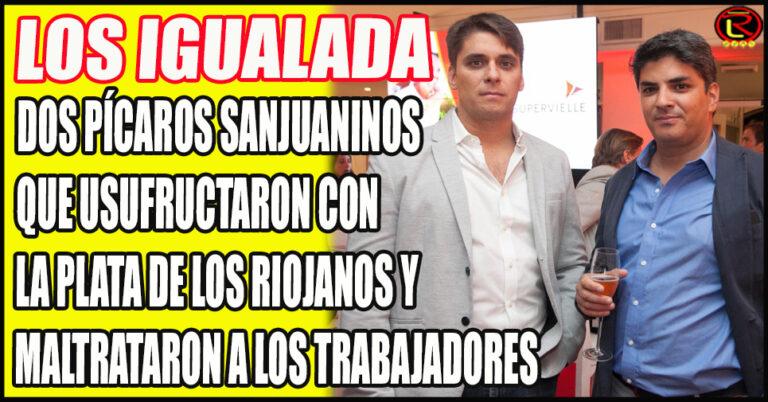 Juan Cruz y Juan José, los dos sanjuaninos responsables del Caos que no dan la cara