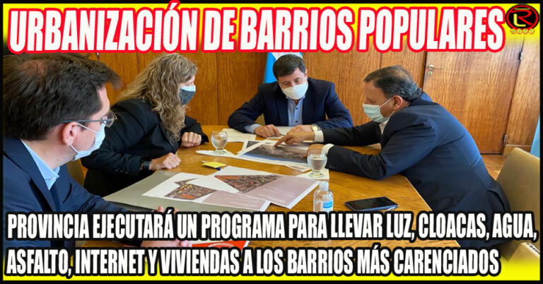 Arroyo recibió a Quintela y Pedrali: la Política habitacional como prioridad de gestión