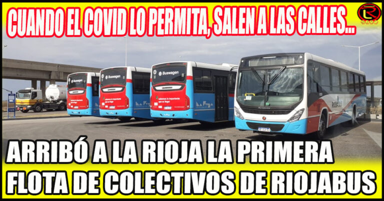 Todo listo para que RiojaBus se haga cargo del Transporte Urbano