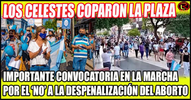 Marcharon desde el ex Parque Sarmiento hasta la Plaza 25 de Mayo