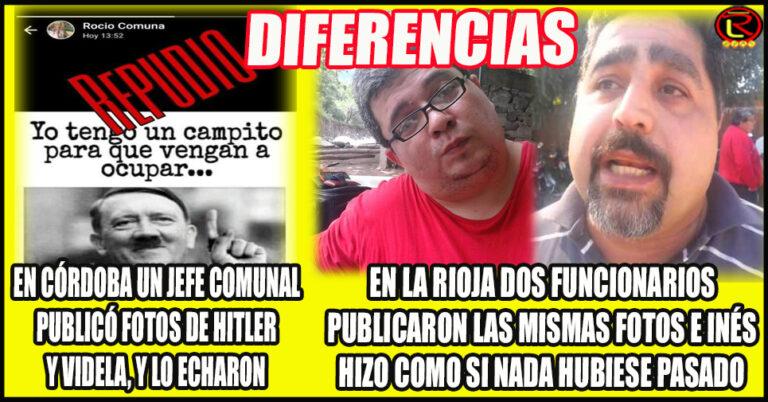 En Córdoba no toleran la apología del Terrorismo de Estado, en La Rioja Inés Brizuela y Doria SÍ