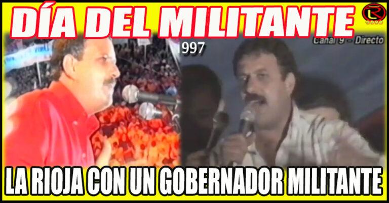 Hoy se celebra el Día del Militante Peronista