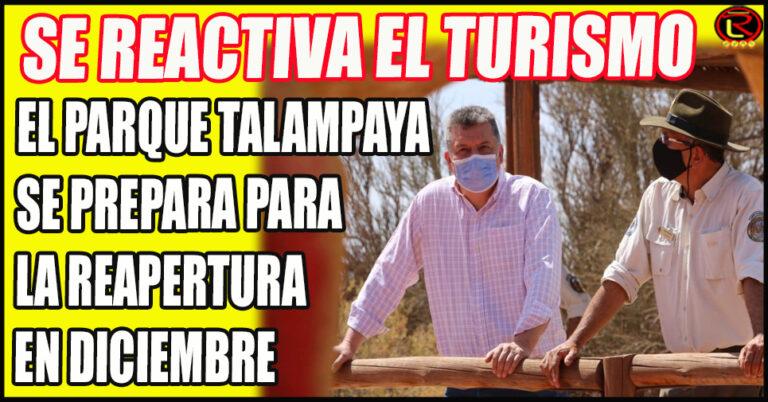 El Intendente del Parque recibió al Ministro Gustavo Luna
