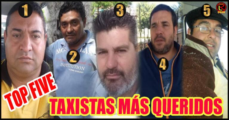 Los 5 taxistas más solicitados en las calles riojanas