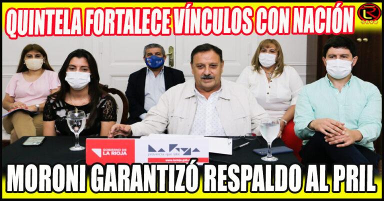 El Ministro de Trabajo de Nación apoyó el Programa Riojano de Inclusión Laboral