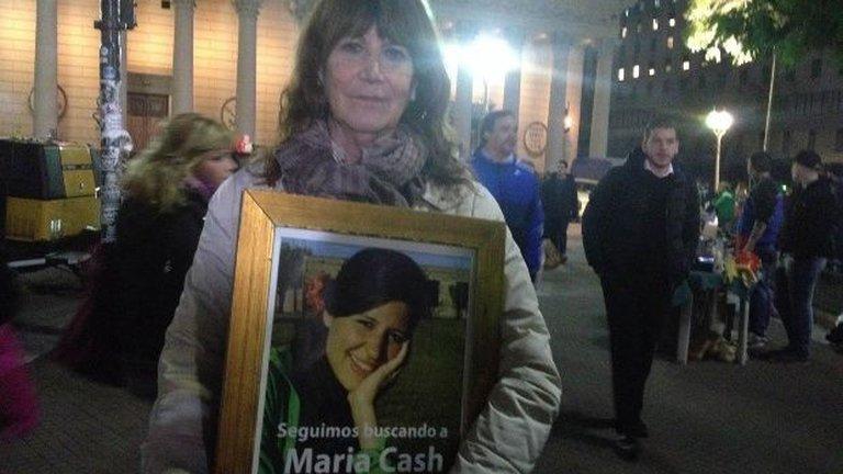 Una búsqueda que no cesa: mirá cómo sería la cara de Maria Cash hoy, a 9 años de su desaparición