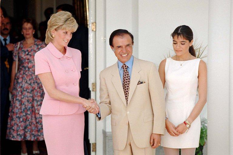 A 25 años de Lady Di en la Argentina: un mayordomo indiscreto, su tristeza y la sorprendente charla con Menem y Zulemita