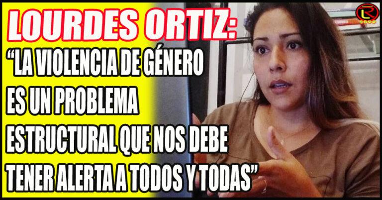 La Secretaria de la Mujer y Diversidades se expresó tras el Femicidio en Aimogasta