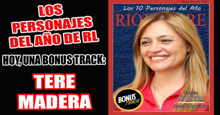 Una 'socia política' del Gobernador Ricardo Quintela