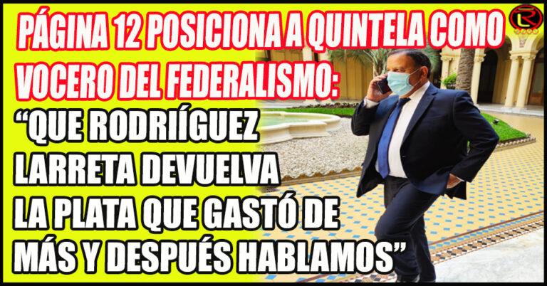 Se consolida la figura de Quintela como líder regional del Frente de Todos
