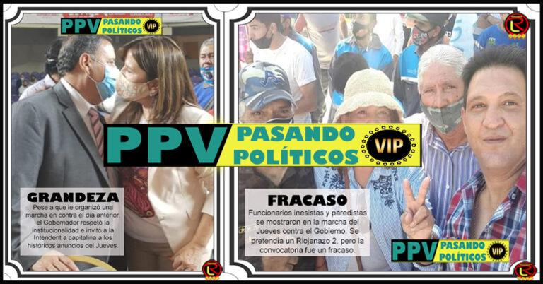 PPV: seis fotos para sintetizar la semana