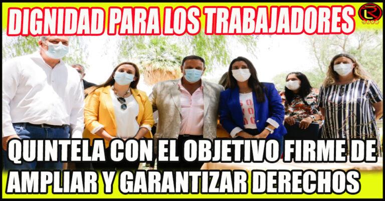 El Gobernador firmó importantes convenios en Arauco