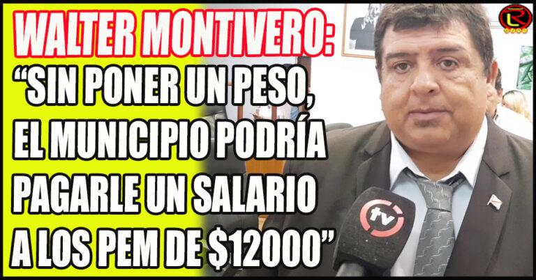 «La Intendenta no nos responde por qué hay plata para pagar el sueldo de 161 funcionarios pero no hay para el aumento de los PEM»
