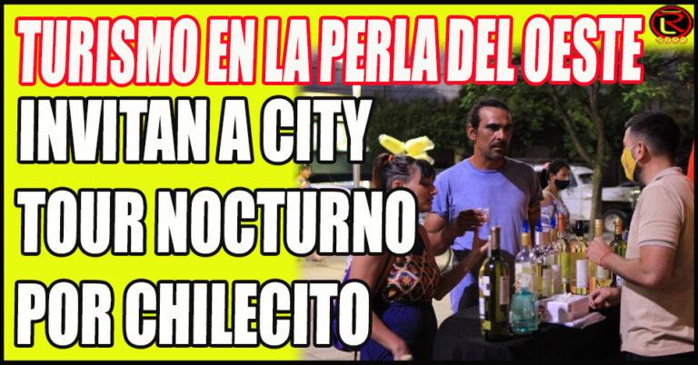 Mañana el City Tour y el Sábado caminata nocturna por Sañogasta