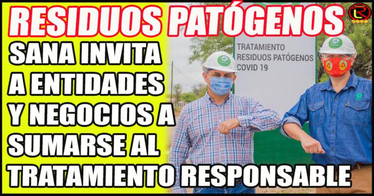 Empresa líder y única habilitada como operadora de residuos patógenos