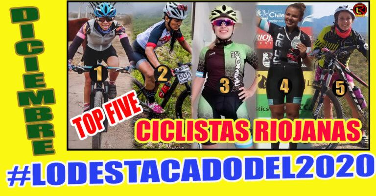 Lo más visto del año: Top Five Ciclistas riojanas